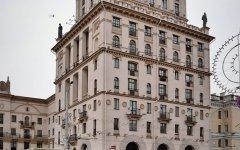 Минск. Дом-башня на привокзальной площади