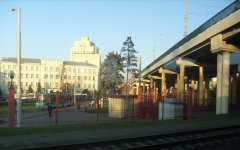 Трамвайное кольцо - мост