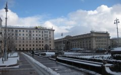Минск, центральная площадь