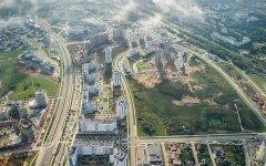 Минск под облаками