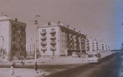 Перекресток улиц Волгоградская и Кнорина, 60-е годы