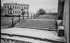 Лестница, спуск к реке Свислочь, ул. Торговая, 1984 год