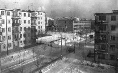 Улица Народная 1970 год