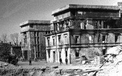 Дом офицеров (Дом красной армии) 1944 год